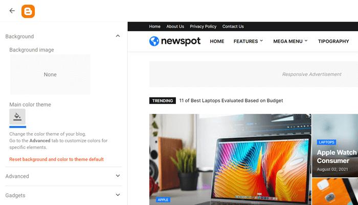 Newspot Customization