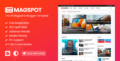 How to Setup Magspot Blogger Template